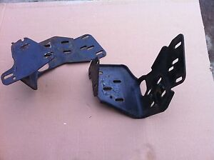 87 93 Ford Mustang Convertible Lower Top Frame Mounting Brackets Parts Lot Oem