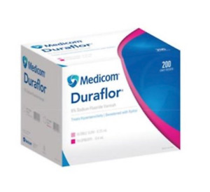 Medicom Mdc 1011 rb200 0 4 Ml Sodium Fluoride Varnish With Unit Dose Raspberry