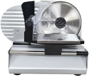 Deli Meat Slicer Commercial Cheese Food Electric Cutter Stainless Steel Blade