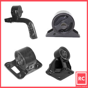 Motor Trans Mount 4pcs For 1990 1994 Mitsubishi Eclipse 1 8l For Auto Trans