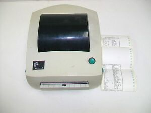 Zebra Lp2844 z Thermal Label Printer Part Number 284z 20401 0001