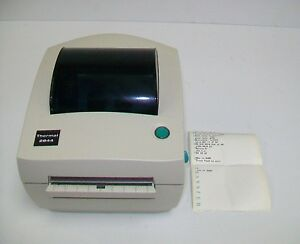 Zebra Lp2844 Thermal Label Printer Part Number 120765 001