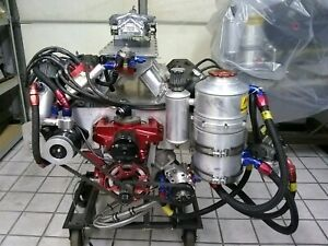 Ray Barton 426 Hemi 604 Ci Engine Motor 1020hp Fresh Rebuild