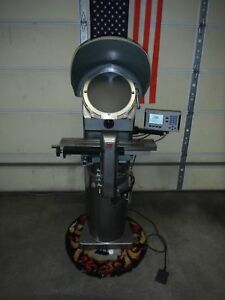 Refurbished Jones Lamson Pc 14a Optical Comparator With 4 Month Warranty