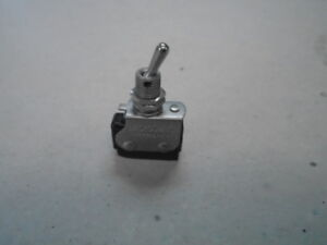 1 Ea Nos Honeywell Micro Toggle Switch W Various Applications P n 6at1