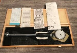 Mitutoyo 511 Series Dial Bore Gage Set 1 4 2 4 With Wood Box