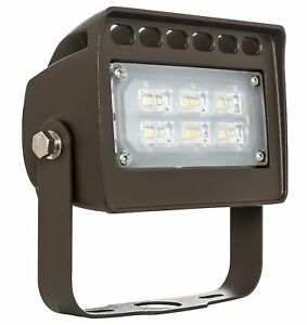 Westgate Led Outdoor Security Flood Light Fixture With Trunnion Mount