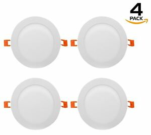 Westgate Ultra Slim Led Recessed Light 6 Inch 9w Round With Junction Box