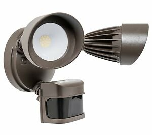 Westgate Flood Light Dual 2 Head Security 24w Fixture Motion Sensor