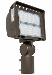 Westgate Led Outdoor Flood Light Fixture With Slip Fitter Mount Aluminum