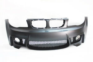 E82 1m Style Front Bumper Bmw 1 Series No Pdc With Fog Lamp 08 13