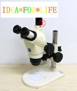 Zeiss Stemi 2000 c Trinocular Microscope 10x 23 Eyepieces stand no Ccd no Light