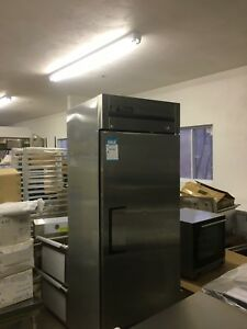 True T23f Single Door Freezer Stainless Great Condition Used