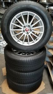 18 Jaguar F Pace Factory Oem Alloy Wheels Tires P255 60 18 18x7 1 2 2017