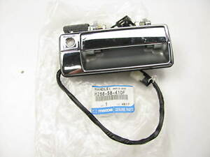 New Oem Mazda H266 58 410f Right Outside Door Handle 1988 1989 929