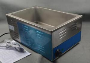 110v Commercial Electric Countertop Food Warmer Hot Dog Steamer