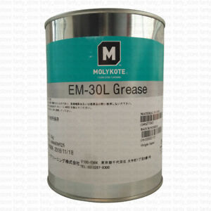 1kg Molykote Em 30l Plastic Gear Grease Solid Lubricant White Oil a9z5 Lw
