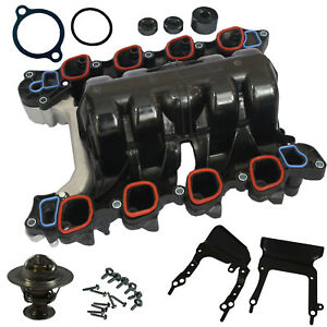 Thermostat O Rings Intake Manifold W Gasket New For Ford Mercury Lincoln 4 6l