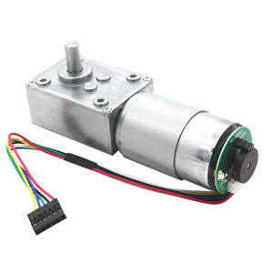 24v Electrical Speed Reducer Gear Motor Dc Reduction Encoder Motor 27rpm