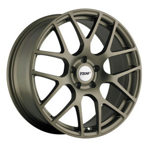 Tsw Nurburgring 18x10 5 5x4 5 Offset 27 Matte Bronze Qty Of 1