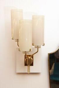 Ercole Barovier Sconces Made By Barovier Toso Italy 1948