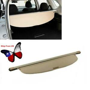 Beige Rear Trunk Shade Cargo Cover For Nissan Rogue X trail 2014 2017 Us Sto