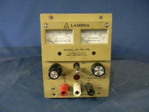 Lambda Lp 521 fm Dc Power Supply 20v 3 3a