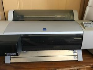 Used Epson Stylus Pro 7500 Wide Large Format Big Inkjet Color Printer Plotter