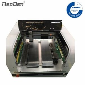 Neoden4 Small Pick And Place Machine 2 Cameras 39 Feeders Prototype 0201 Fpga