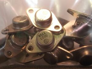 General Electric Ge Ge 23 Ge23 Vintage Power Transistor Lot X14 Nos
