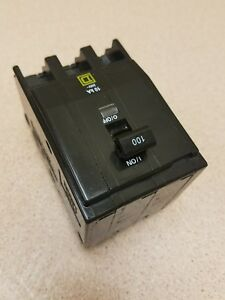 Square D Qo3100 3 Pole 100 Amp Breaker Qo Plug In Fits Nqod 1 Year Warranty