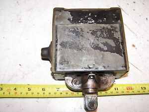 Old Wico Ek Hit Miss Gas Engine Magneto Spark Plug Oiler Steam Tractor Mag Hot