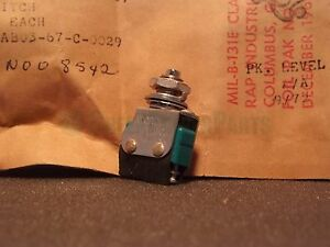 Ti Texas Instruments Micro switch 594737 1 Toggle Lot X5 Nos