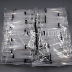 500 Pcs Disposable Dental Maximum Canal Irrigation Syringe With Curved Tip 12cc
