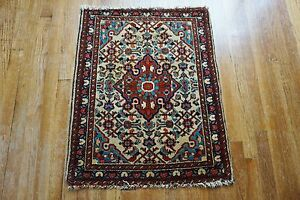 Antique Hamadan Rug 2 2 X2 9
