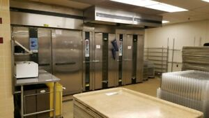 2 Baxter Commercial Rack Ovens Proofer