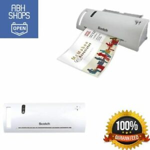 Scotch Thermal Laminator With Starter Pouches Laminating Machine 2 Roller System