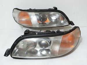 Jdm 1991 97 Toyota Lexus Aristo Jzs147 Gs300 Front Headlights Lamps Lights Oem