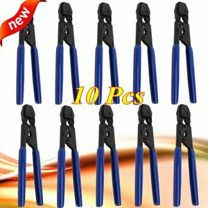 10 Pcs Pex Cinch Crimp Crimper Crimping Tool For Ss Clamps Sizes From 3 8 To 1
