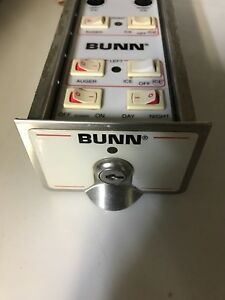 Bunn Cds Slushy Machine Control Panel With Board Used But Works Great