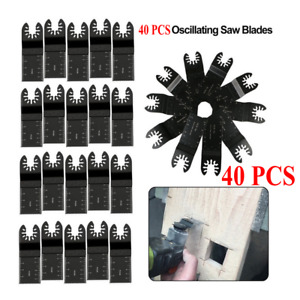40pcs Oscillating Multi Tool Saw Blade For Fein Multimaster Dremel Makita Bosch