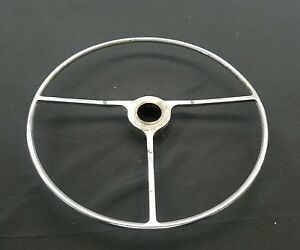 Vintage Ford Chevy Dodge Plymouth Pontiac Buick Steering Wheel Horn Ring Button