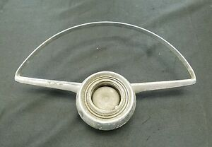 Vintage Ford Chevrolet Dodge Plymouth Buick Steering Wheel Horn Ring Button