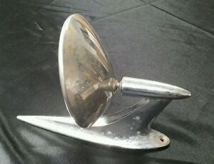 Vintage Chevy Ford Buick Oldsmobile Dodge Exterior Round Side Mirror