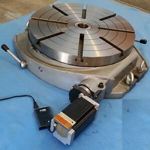 Motorized Rotary Table 16 Inch Cnc 4th Axis