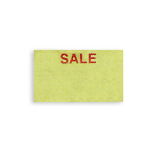 Price Tag Single Line Labels Dennison 106 Label Gun Yellow Sale Retail Store New