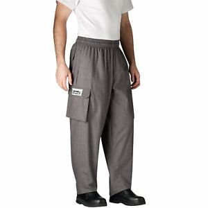 Chefwear Cargo Cotton Chef Pants Charcoal Small