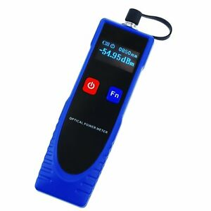 Power Meter Cable Tester Fiber Optic With 6 Optic Wave Length Fc Converter