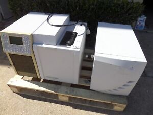 Varian 4000 Gc ms ms Model 3800 3380 With Varian 4000ms