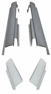 Rocker Panels 2000 2007 Ford Focus 4 Door Pair With Rear Rocker Panel Sections